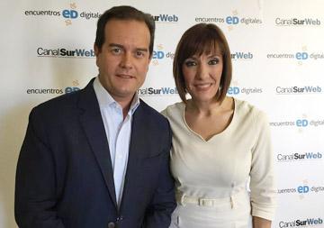 Álvaro Moreno y Blanca Rodríguez