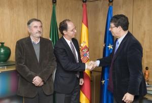 Reunión con Relator de la ONU en Sevilla de Valderas y Naranjo.