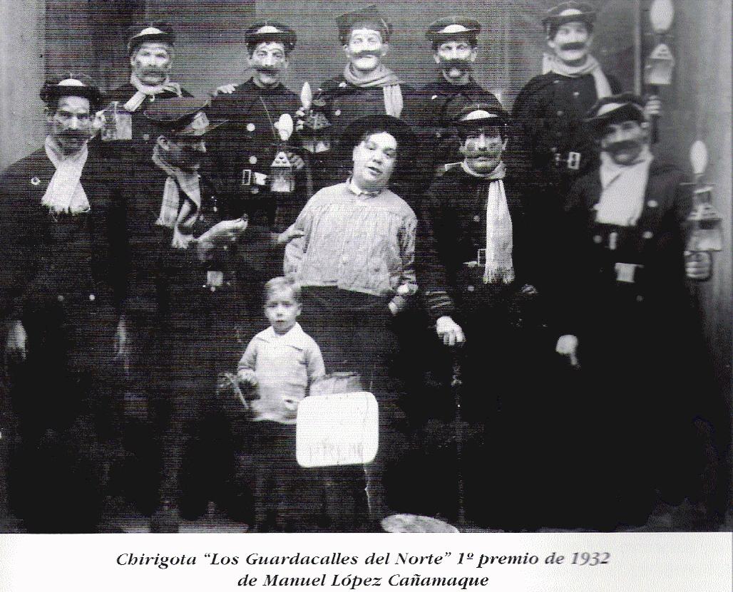 Carnaval Cádiz, 1932