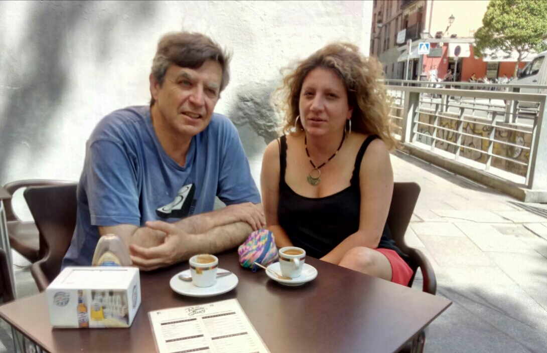 Carlos Fernández y Silvia Casado