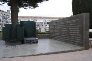 Memorial por las víctimas de Istán (Málaga)