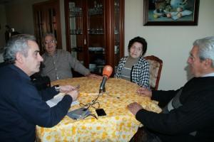 Coloquio con hermanos Quero en Peligros (Granada)
