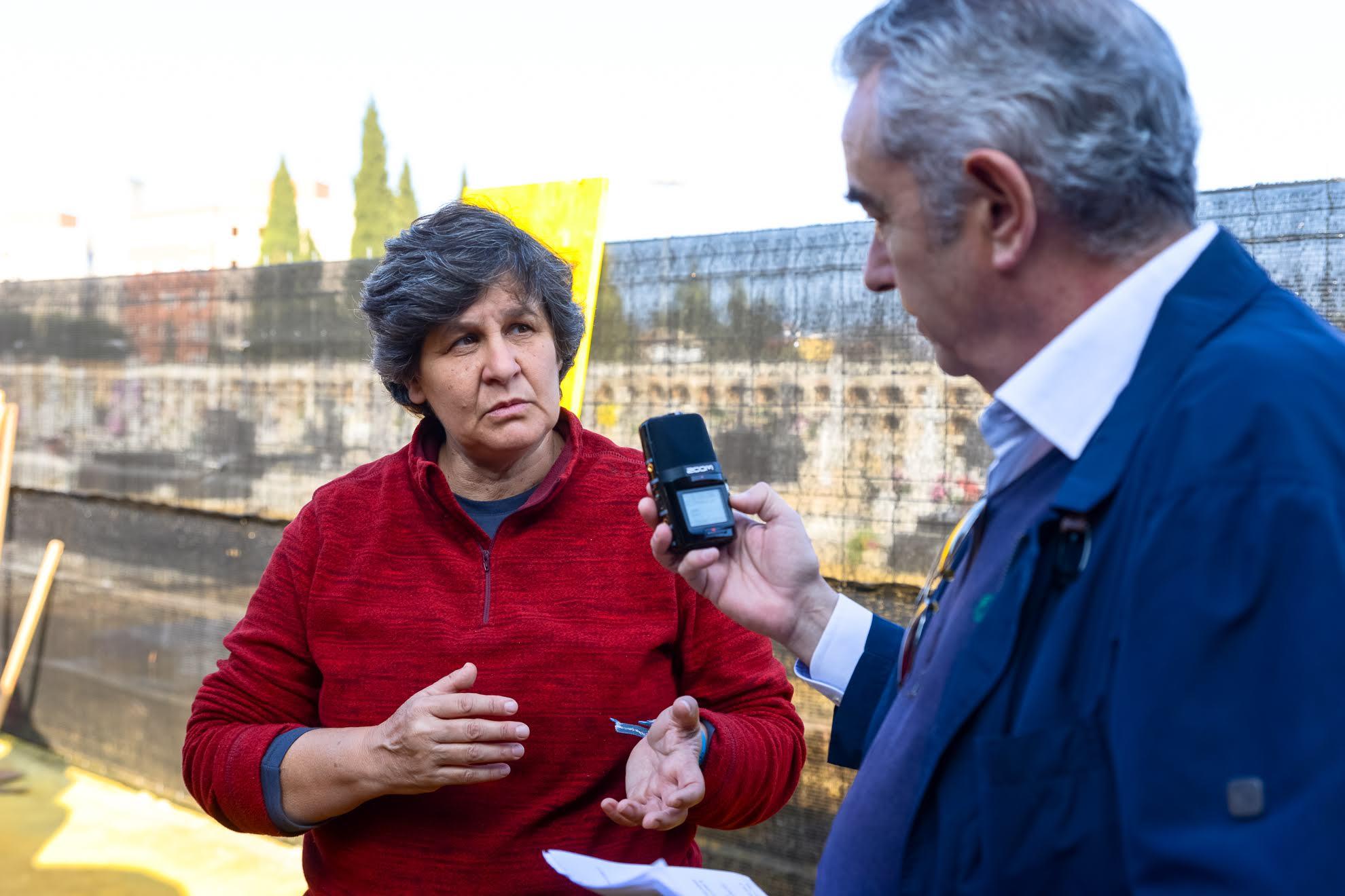 Conversando con la arqueóloga Elena Vera