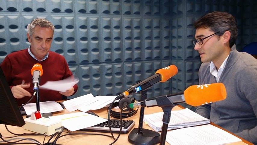 Entrevista con Javier Giráldez en Canal Sur Radio.