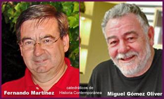Fernando Martinez y MIguel Gómez Oliver.