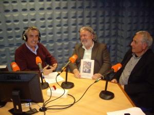 Coloquio sobre Fuentes de Andalucía con José Moreno y Juan Morillo.