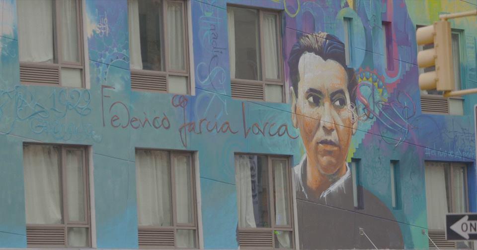 Grafiti de Lorca en hotel del Soho. jpg