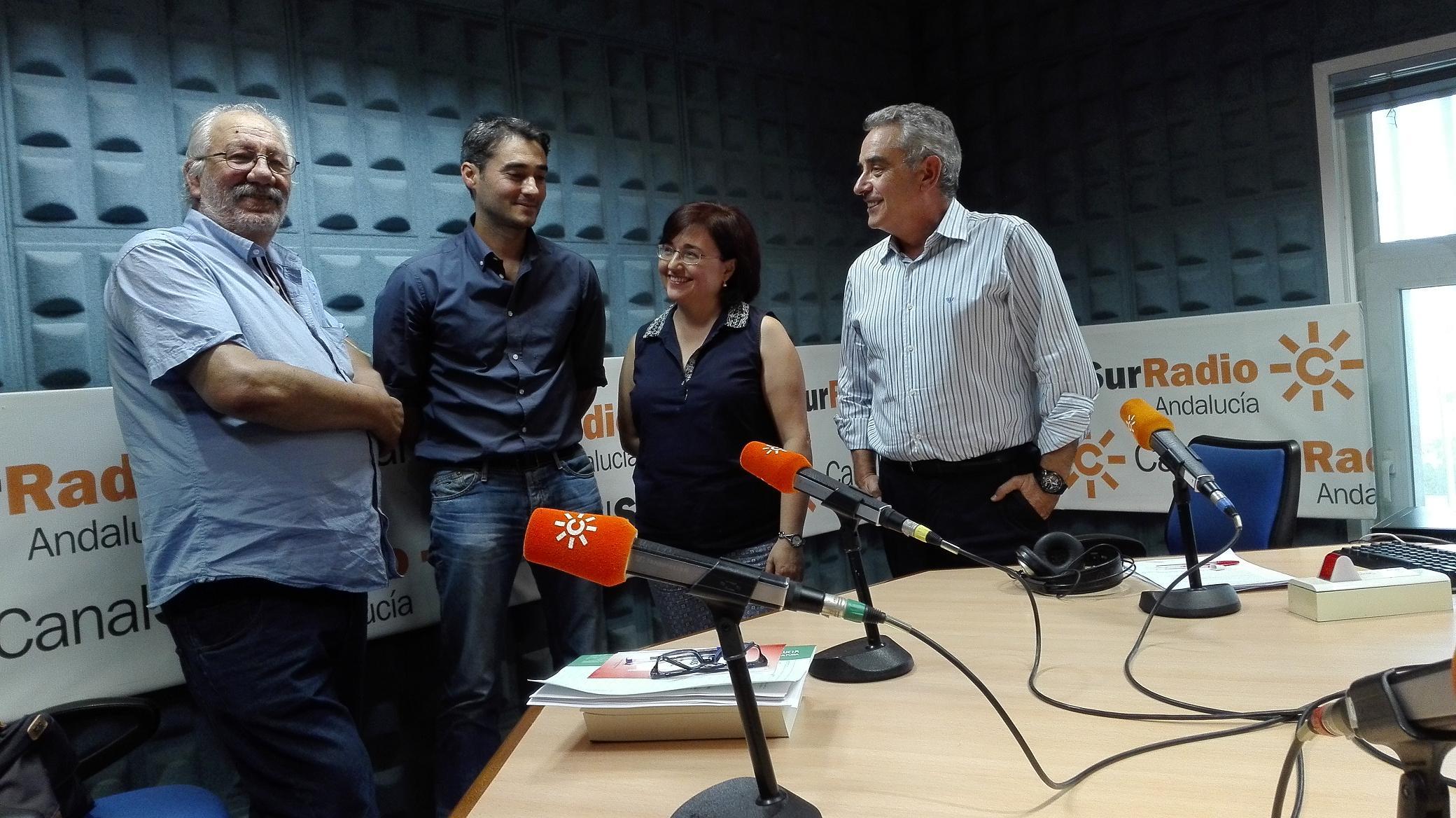 Gordillo, Giráldez, Alonso y Guerrero