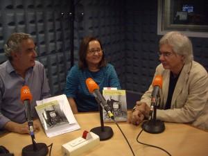Rafael Guerrero, Rosario Fontova y Armand Balsebre.