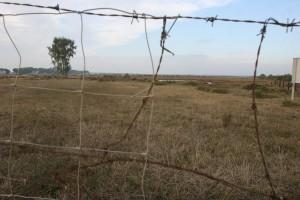 Isla de Saltés, convertida en la postguerra en campo de concentración.