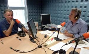 Luis Naranjo, durante la entrevista en Canal Sur Radio.