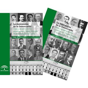 Dos tomos de investigación histórica sobre los alcaldes del Frente Popular en la provincia de Cádiz.