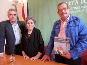 Rafael Guerrero, Francisca Adame y Francisco Moreno.