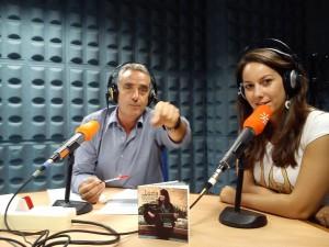 Lucía Sócam con Rafael Guerrero.