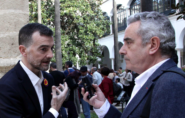 Antonio Maíllo (IU) entrevistado