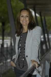María Dueñas en Canal Sur Radio, 2012.