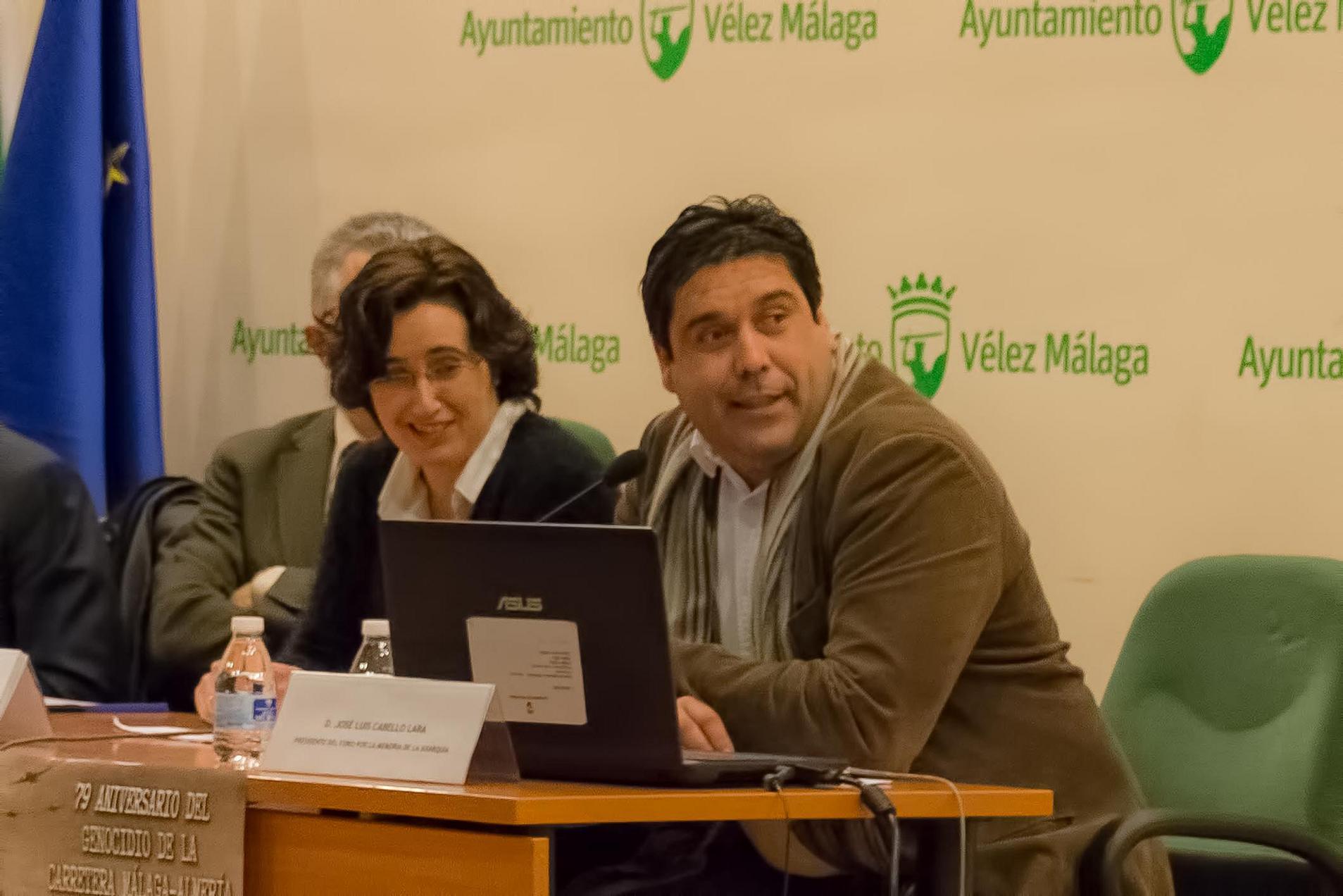 Maribel Brenes y Andrés Fernández.