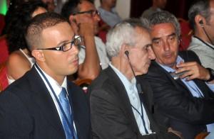 Miembros del jurado: Tarik Atmane, Manuel Piñeiro y Rafael Guerrero. Foto de Nador CIty