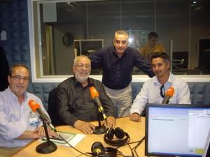 Perales, Gordillo y Arenas, coloquio 2013.
