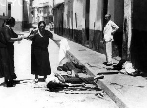 Represión golpista en Sevilla.