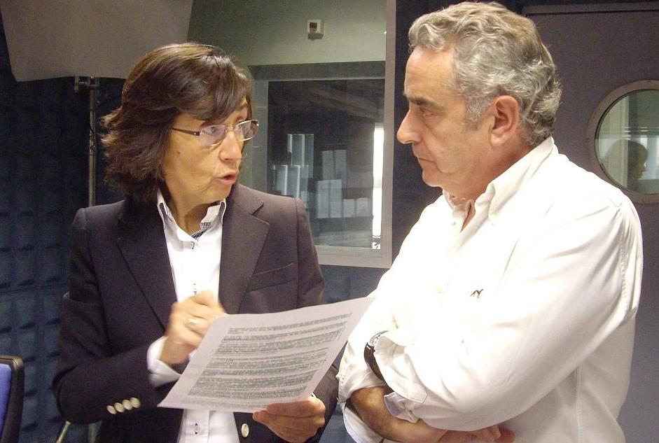 Rosa Aguilar, en Canal Sur Radio.