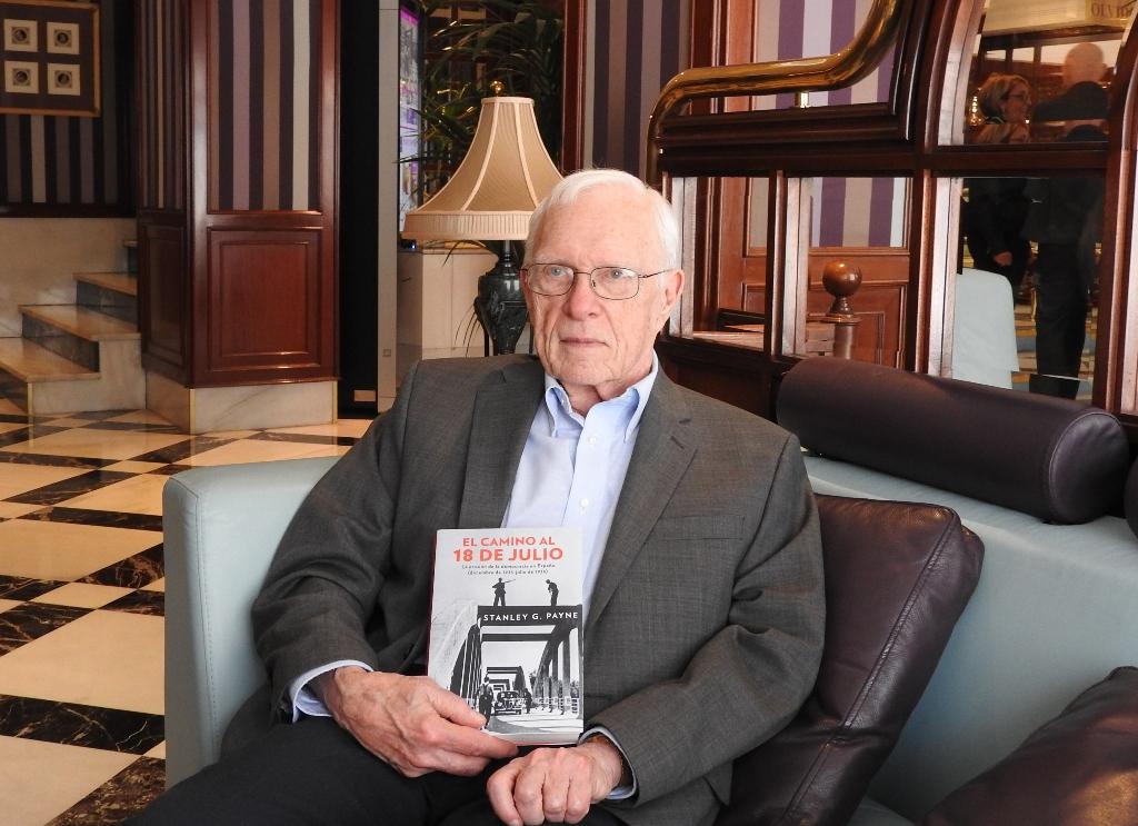 Stanley Payne y su nuevo libro