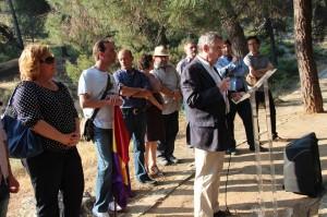 Fosas comunes del Barranco de Víznae-Alfacar (Granada), lugar de la memoria.